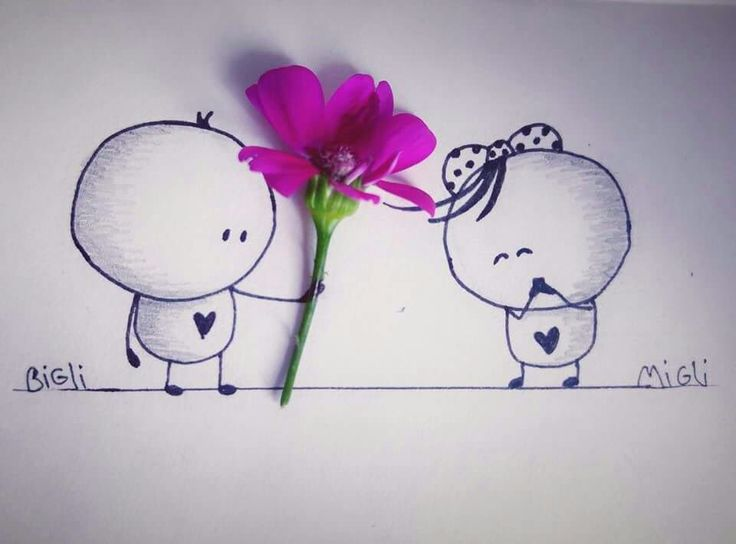 A flower for the lady
