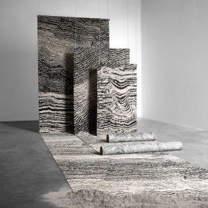 Tom Dixon's Industrial Landscape carpets are based on London architecture