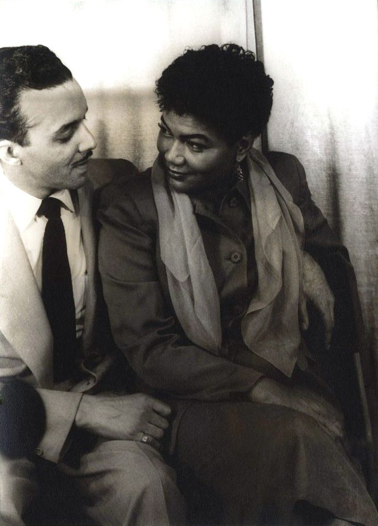 "Pearl Bailey with her husband, John Randolph Pinkett in 1950, photo by Carl Van Vetchen. ""Photos, Vans Vetchen, Third Husband, Husband Probability, Carl Vans, Randolph Pinkett, 1950 S, Pearls Baileys, John Randolph"