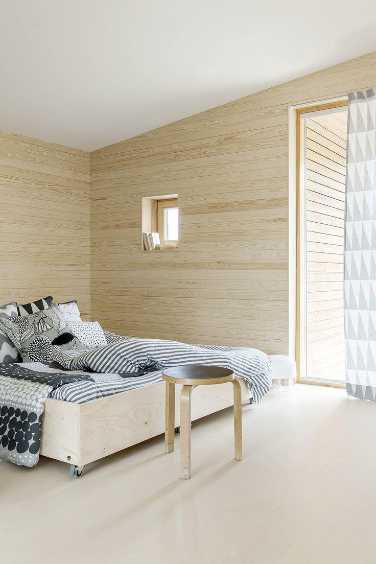 marimekko 2014 bed room Asuntomessu 2014 (house exhibition)