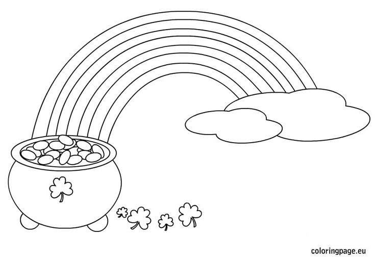 f rainbow coloring pages - photo #44