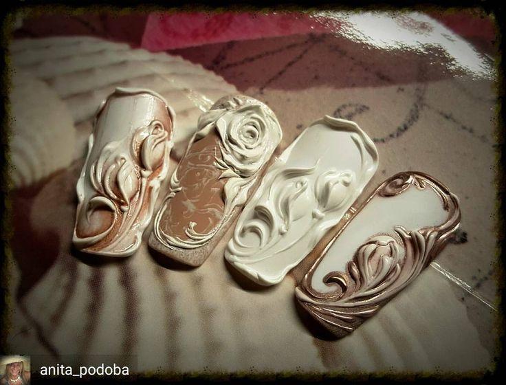 @Regrann from @anita_podoba -  3D gel. :) #Regrann