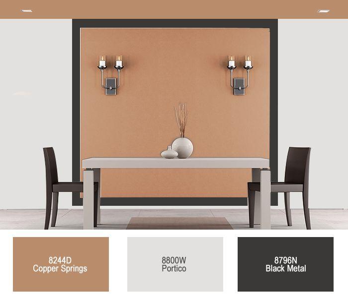 #CeresitaCL #PinturasCeresita #Color #Comedor #Creatividad #Pintura #Tendencia #Estilo #Decoración #Arquitectura  #Inspiración *Códigos de color sólo para uso referencial. Los colores podrían lucir diferentes, según calibrado de su monitor.