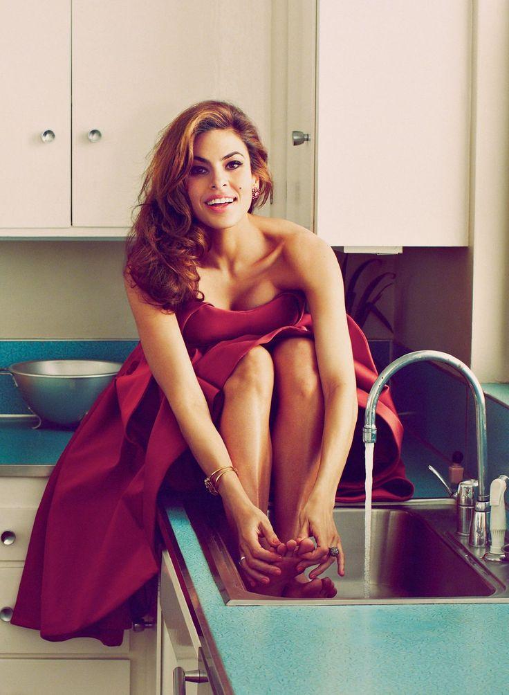 Eva Mendes in Flare Magazine, May 2014.