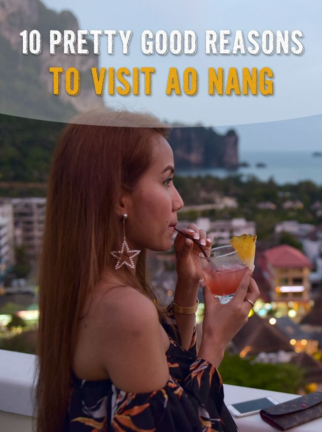 10 Pretty Good Reasons to Visit Ao Nang in Krabi