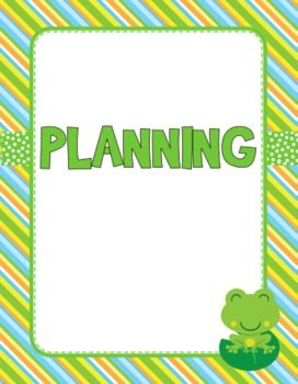 This bright, froggie-themed title includes 10 pages of classroom organizational materials to make your life easier!Contents:Classroom Management Binder CoverPlanning Binder CoverClassroom Signs - Essential Question, Goals, Objectives, Procedures, Schedule, StandardsMonthly Calendar TemplateRoster TemplateYou can find editable images of these resources and MUCH MORE in my Frog-Themed Classroom Materials Pack loaded with lots of froggie goodness!Looking for a different theme?