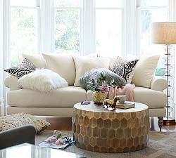 Amalie Vince Living Room | Pottery Barn