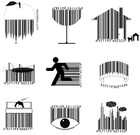 Crafty Consumerism: 15 Creative Forms of Barcode Art