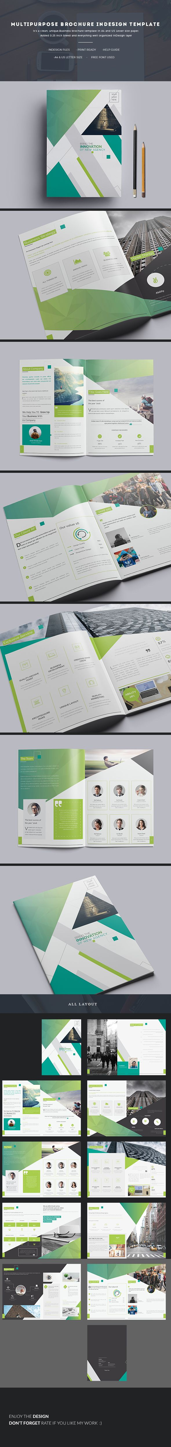 Multipurpose brochure is very easy to use and change text,color,size,look and everything because i made it on Adobe InDesign (indd & idml ) file so please don't worry about changing :) here is full view :https://graphicriver.net/item/multipurpose-brochure-indesign-template/18181920