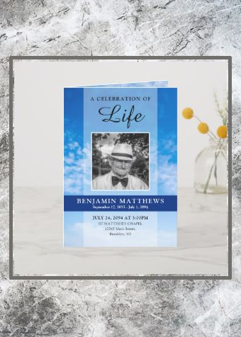 Celebration of life guest book