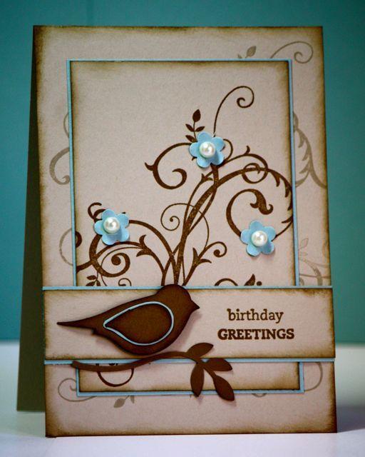 August 23 blog entry.  Lovely card.