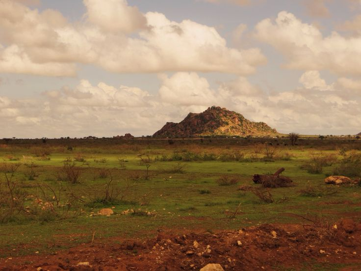 On the border with Ethiopia on the Somali side