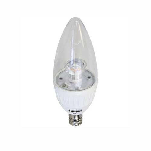 Luminus LED B11 4.7W 315 Lumens Dimmable Warm White Light Bulbs 3 Pack