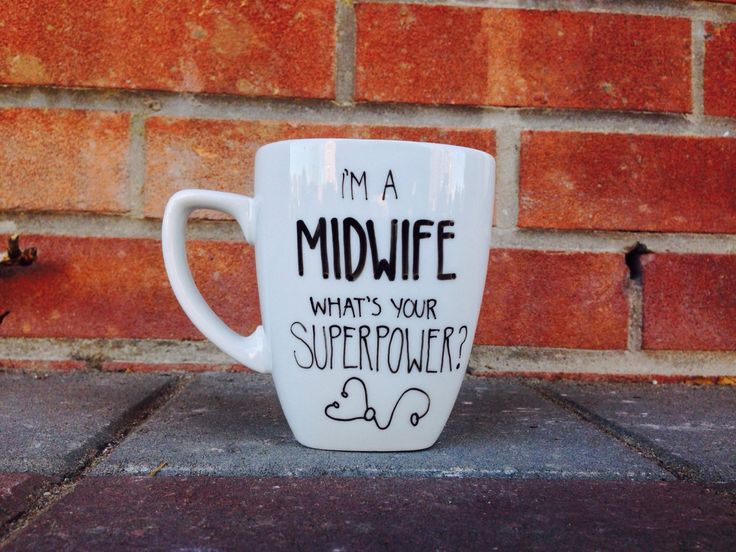 I'm a Midwife what's your Superpower Coffee Mug. Ceramic Mug. Midwife. Im a midwife whats your superpower by PupocoARTS on Etsy https://www.etsy.com/listing/227451672/im-a-midwife-whats-your-superpower