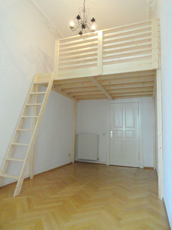 Hochbett selber bauen dachschräge  Die besten 25+ Hochbett bauen Ideen auf Pinterest | Podestbett ...