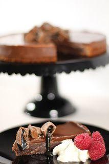 Cake By Mary: Lakritskladdkaka med lakritschokladtryffel