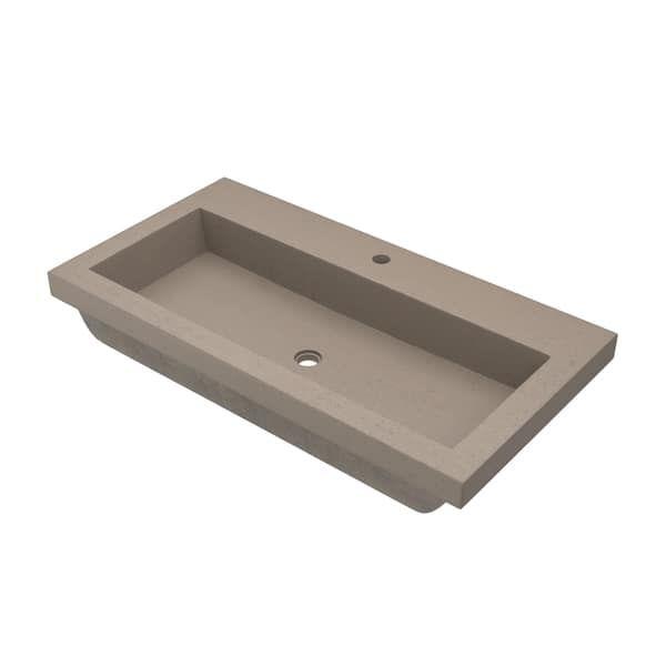 Overstock Com Online Shopping Bedding Furniture Electronics Jewelry Clothing More Drop In Bathroom Sinks Concrete Bathroom Rectangular Sink Bathroom