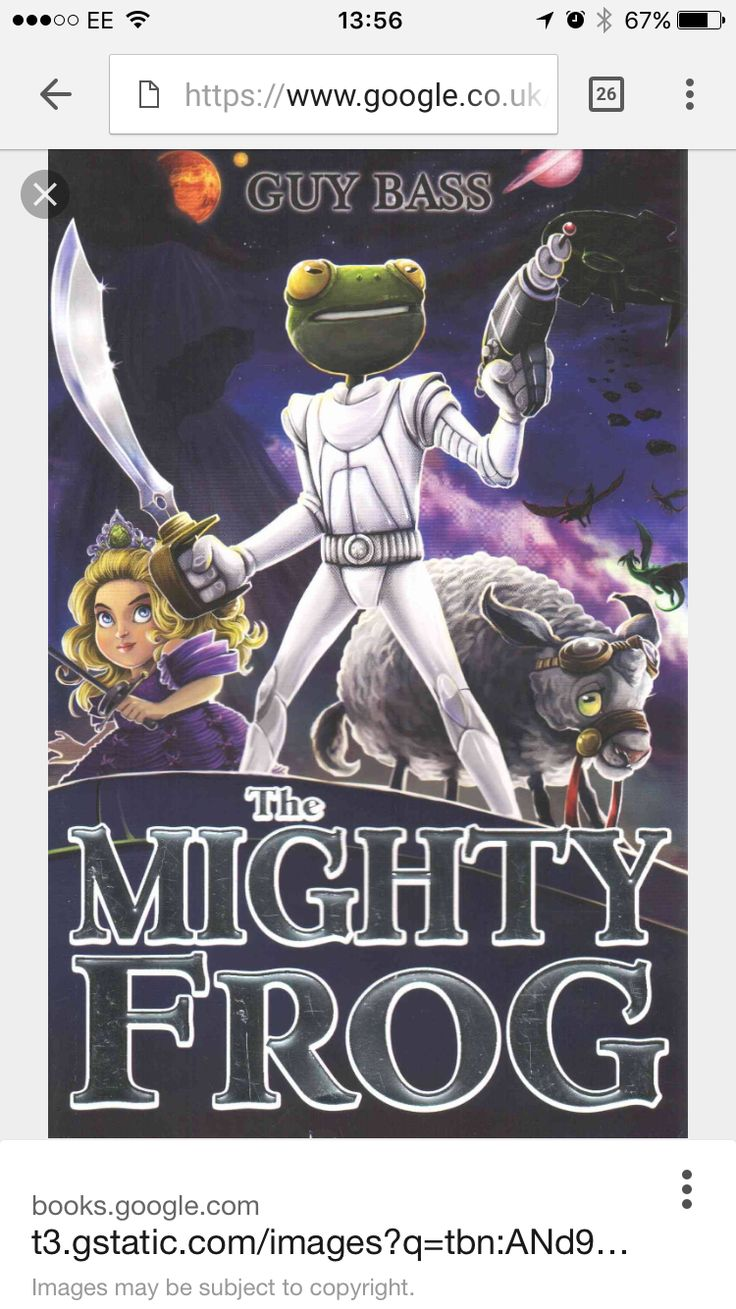 Guy Bass book The Mighty Frog