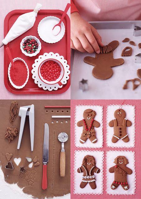 Bonhomme en sablé chocolat