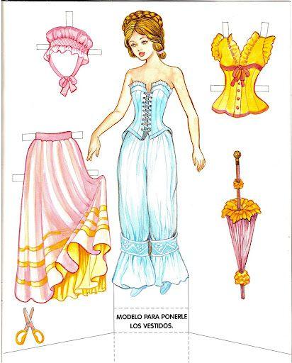 Princess Paper Doll - Cinderella   Gabi's Paper Dolls