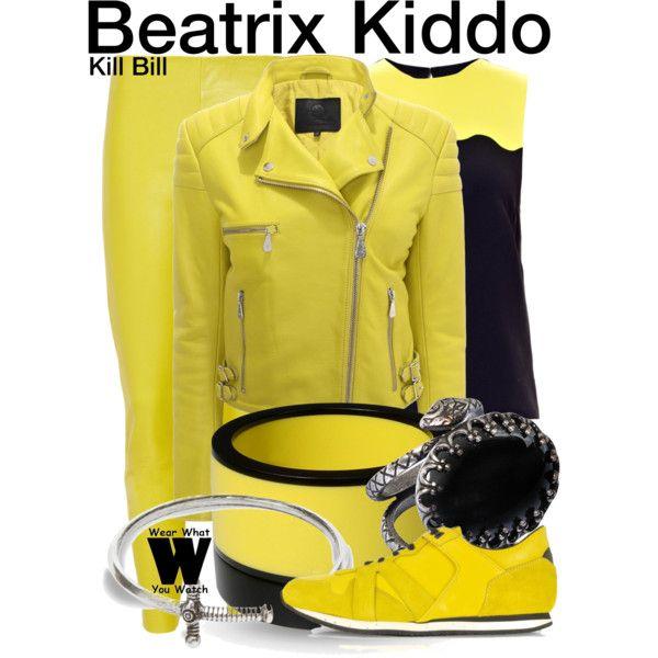 Inspired by Uma Thurman as Beatrix Kiddo in the Kill Bill movie franchise