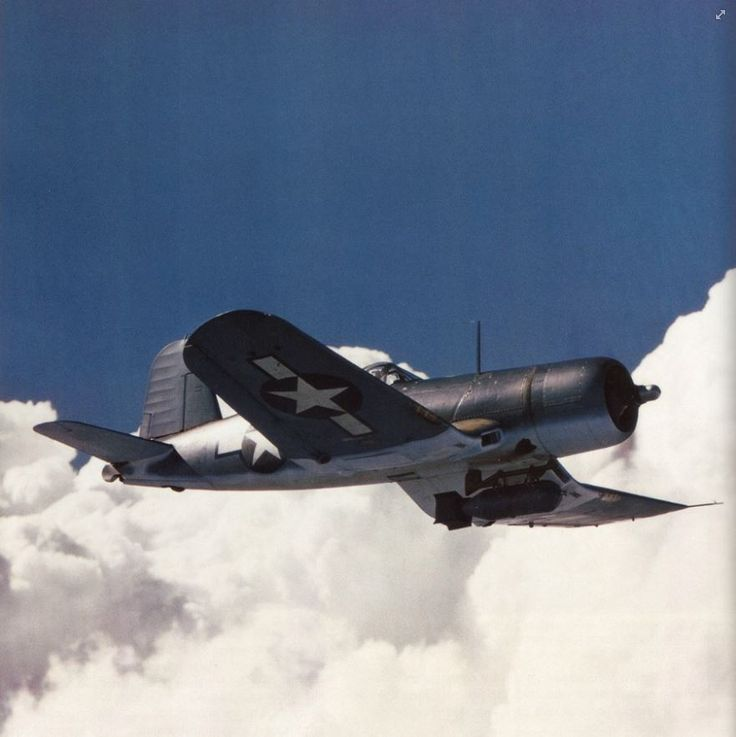 250 best Planes images on Pinterest   Military aircraft  Air ride     F4U 1A with Brewster Bomb Rack