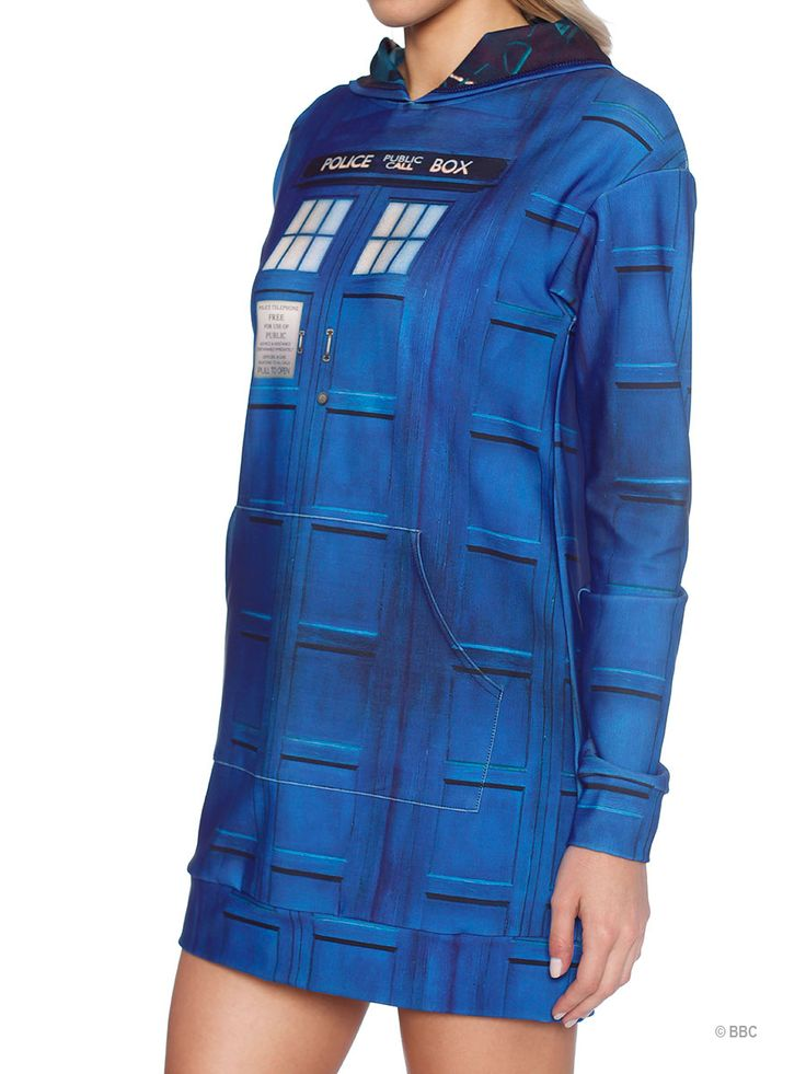 Tardis Slouchy (WW ONLY $160AUD) by Black Milk Clothing