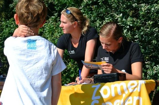 Inschrijven bij de zomerspelen bij het duinmeer van Hee http://www.mooiweerzomerspelen.nl