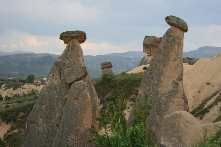 Those mushroom rocks... Cappadocia