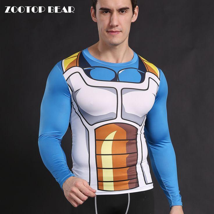 Guerra Civil Tee 3D Impressos Camisetas Homens Vingadores Homem De Ferro Trajes Cosplay Roupas de Fitness Masculino Vegeta Anime