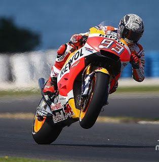 Blog Esportivo do Suíço:  Atual campeão, Márquez lidera 1º dia de teste na Austrália; Rossi é 2º