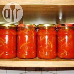 Фото рецепта: Болгарский перец в томате