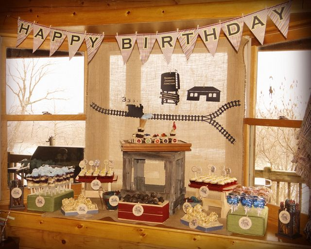 """Photo 1 of 43: Trains and PJammies / Birthday """"Sammy's Jammies Junction 3rd Birthday"""" 