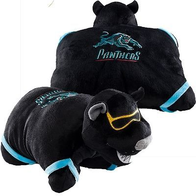 """NRL Penrith Panthers Official 18"""" Pillow Pet cool party gift or party favor for birthday party guests"""