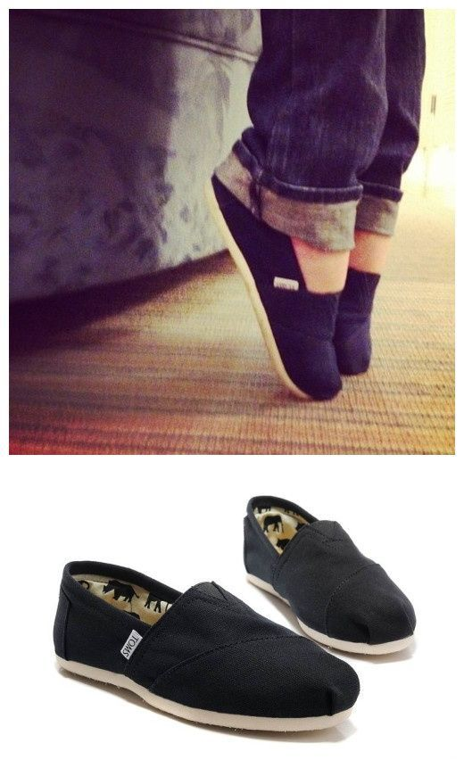 Usually I hate toms but this picture makes them look kind of cute.