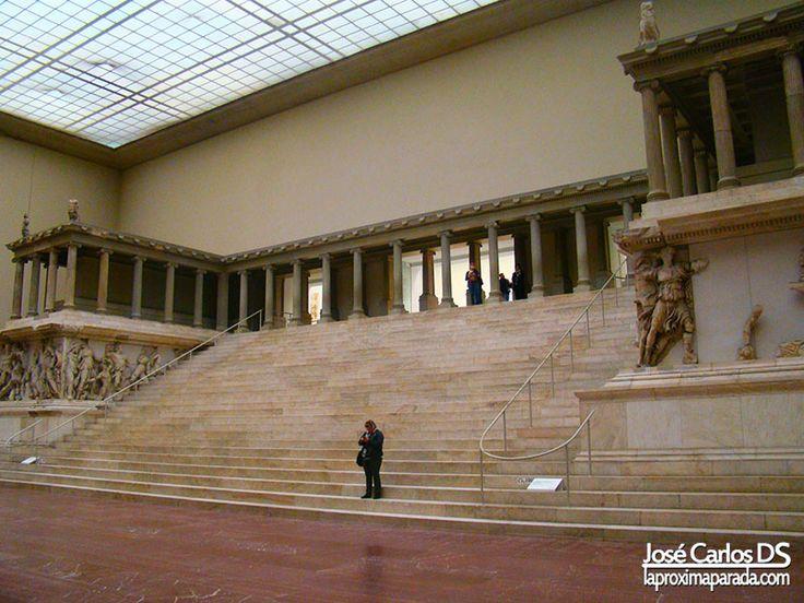 Altar de Zeus en el Museo de Pergamo #Berlin