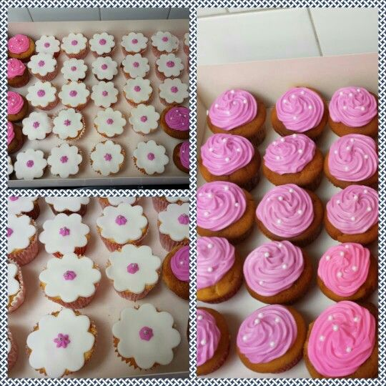 Cupcakes! Mmm met icing topping