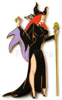 OMG, I need this Disney pin Crossover with Jessica Rabbit and Maleficent