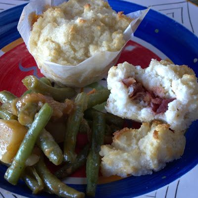 Fruity Mieliepap Muffins and Green Bean Bredie
