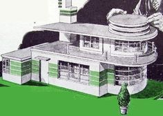 Art deco house plans uk