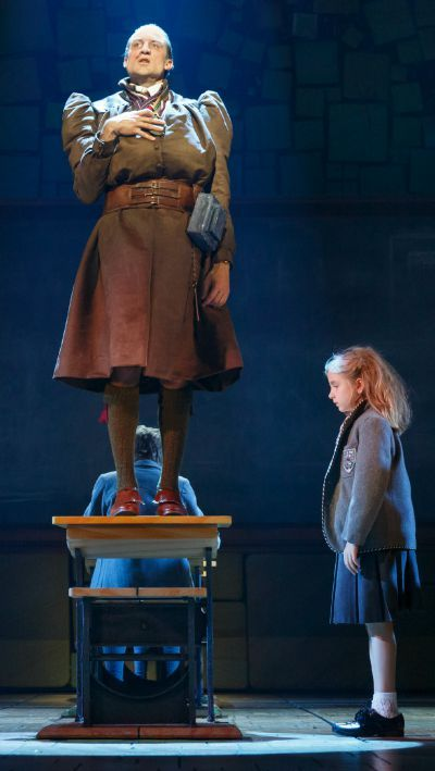 Bryce Ryness stars in the national tour of 'Matilda The Musical' as Miss Trunchbull.