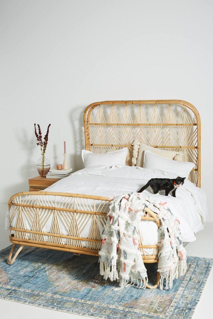 Justina Blakeney Ara Bed Grey bedroom furniture