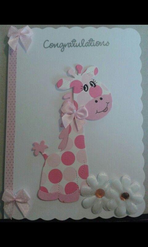 Congratulations girl card