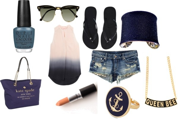 """summer casual"" by nicole-beal on Polyvore"