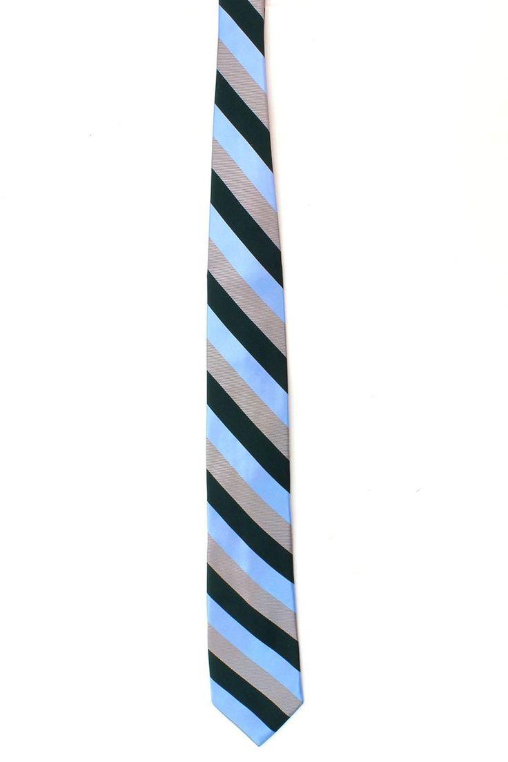 mens ties designer mftm  Silk Tie in Baby Blue, Green and Silver Ike Behar is, simply put, the  finest American men