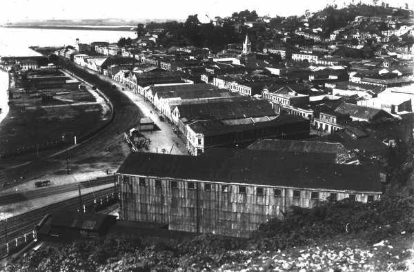 Vista de Talcahuano 1940.