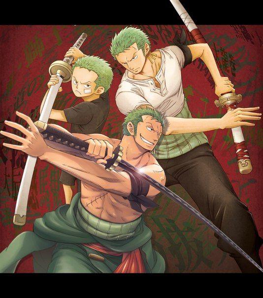 Roronoa Zoro/Ророноа Зоро One Piece 