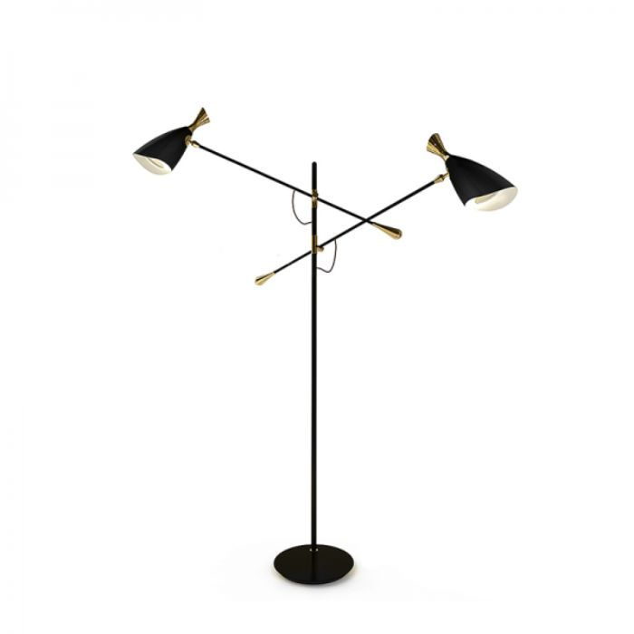 Delightfull Duke 2 Floor Lamp Floor Lamp Retro Floor Lamps