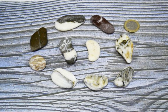 Magic Positive Energy beach stones for pendants by SymiTreasures