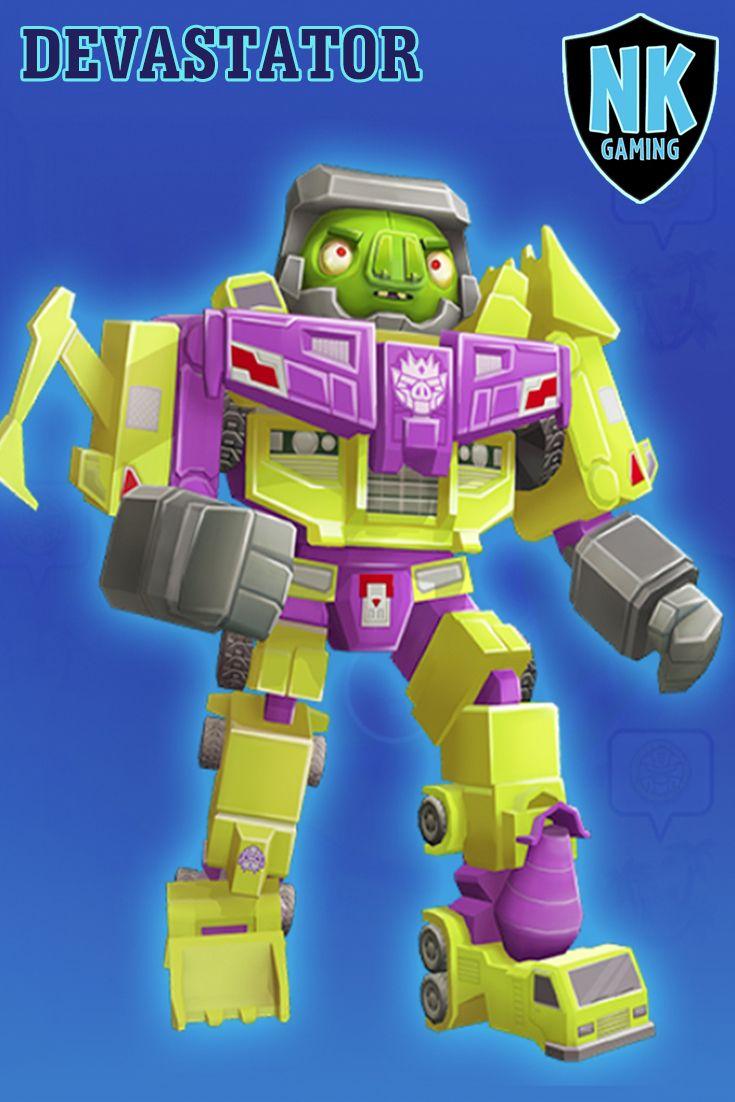 Angry Birds Transformers Devastator New Character Angry Birds Transformers Juegos